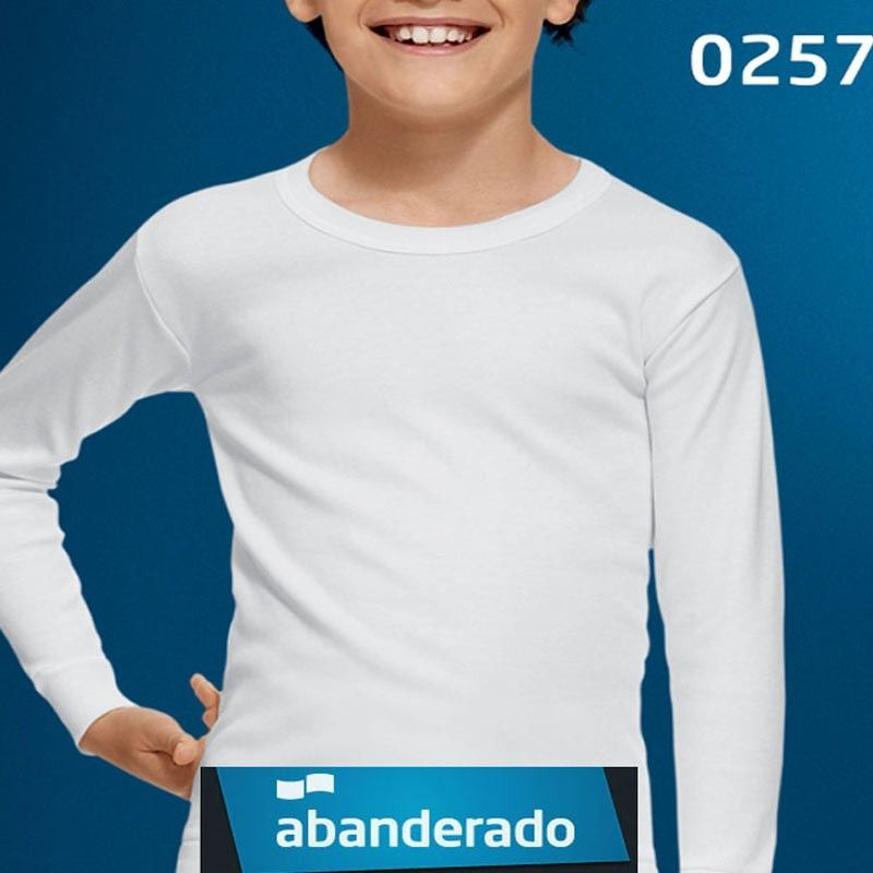 Camiseta Abanderado Thermal manga larga niño