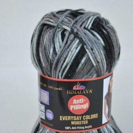 Lana Himalaya Colors Everyday Worsted Gris
